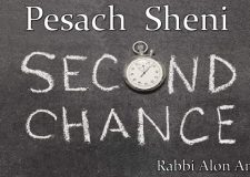 Pesach Sheni – What's the point?