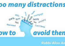 How to avoid all the distractions in my life?