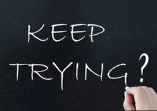 When should I stop trying (He'shtadlut – השתדלות)
