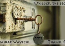 Parashat Vayechi – Did you thank G-d lately??