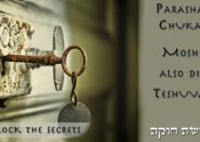 Parashat Chukat – The secret of Moshe Rabenu's Teshuvah