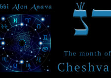 The month of Cheshvan – Turn bitterness into sweetness
