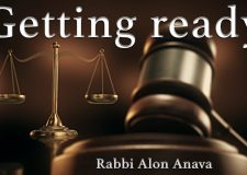 Getting ready for the new year – During the month of Elul