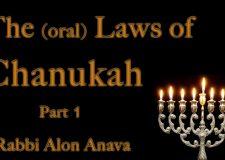 Hilchot (Oral laws) of Chanukah