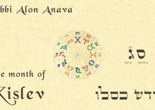 What can be achieved in the month of Kislev