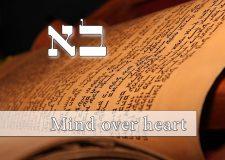 Parashat Bo – mind over heart