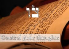 Parashat Tzav – How to control our thoughts