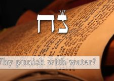 Parashat Noach – Why punish the world with water?