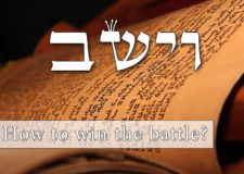 Parashat Vayeishev – How to win my battles