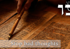 Parashat Tzav – How to get rid of bad thoughts?